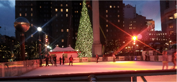 ice-rink holiday image